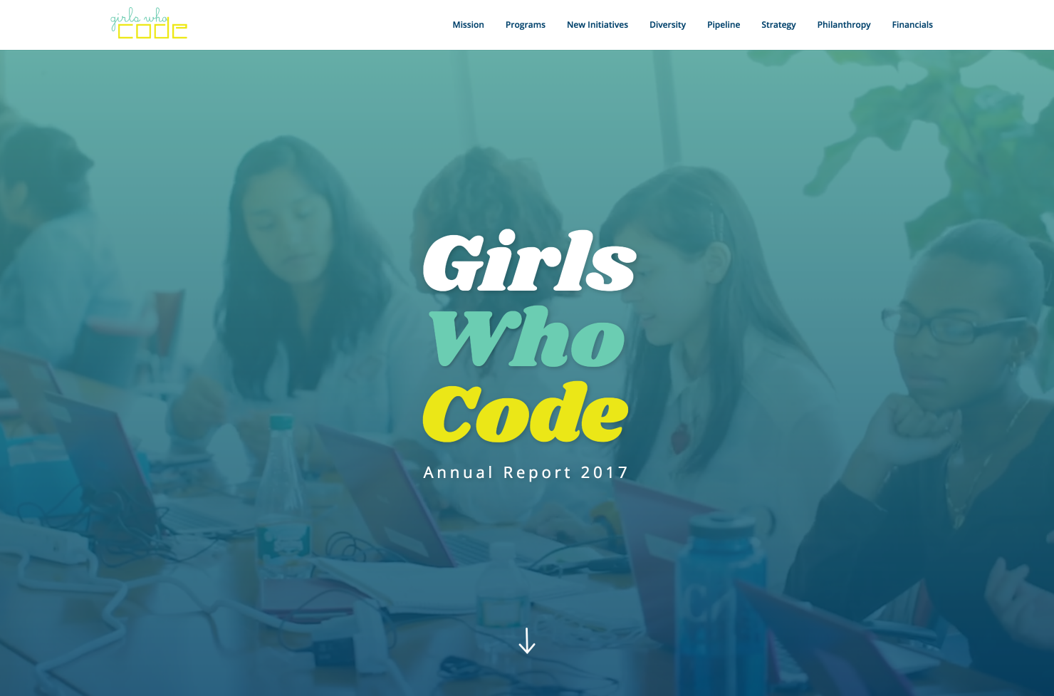 Girls Who Code - Annual Report 2017
